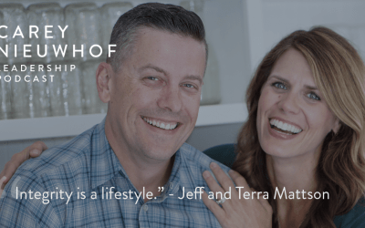 Jeff and Terra Mattson on The Carey Nieuwhof Leadership Podcast
