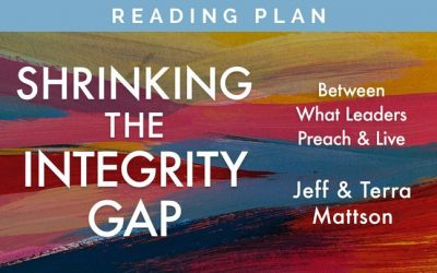 "NEW: YouVersion Reading Plan for ""Shrinking the Integrity Gap"""